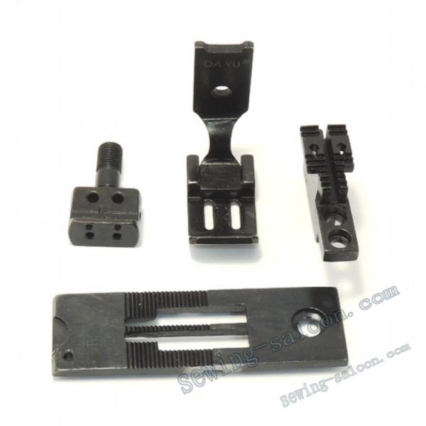 Сменный комплект для 2-х игольных машин LH515/842 19 мм