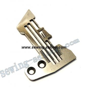 Игольная пластина 4-х ниточного оверлока SIRUBA E809