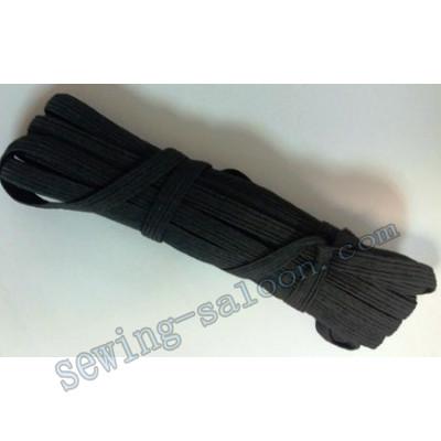 Резинка бельевая черная 10 м