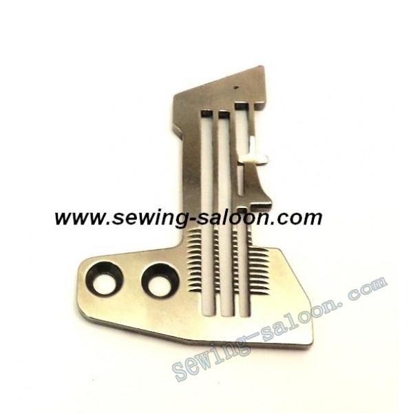 Игольная пластина 3-х ниточного оверлока SIRUBA  E800