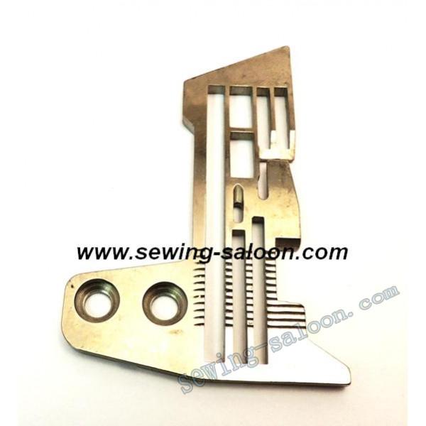 Игольная пластина 5-ти ниточного оверлока SIRUBA E870