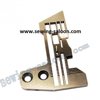 Игольная пластина 5-ти ниточного оверлока SIRUBA E986