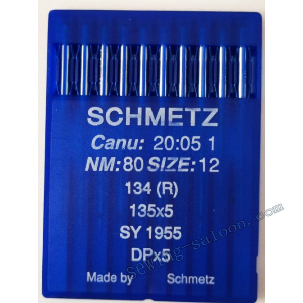 Иглы Schmetz промышленные универсальные 134 (R) 10шт