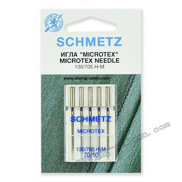 Иглы Schmetz Microtex №70