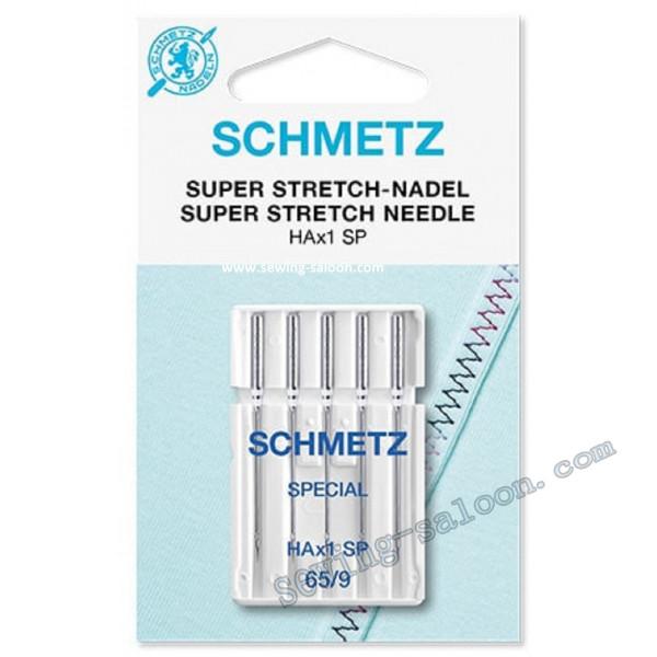 Иглы Schmetz super stretch №65