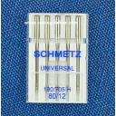 Иглы Schmetz универсальные №80