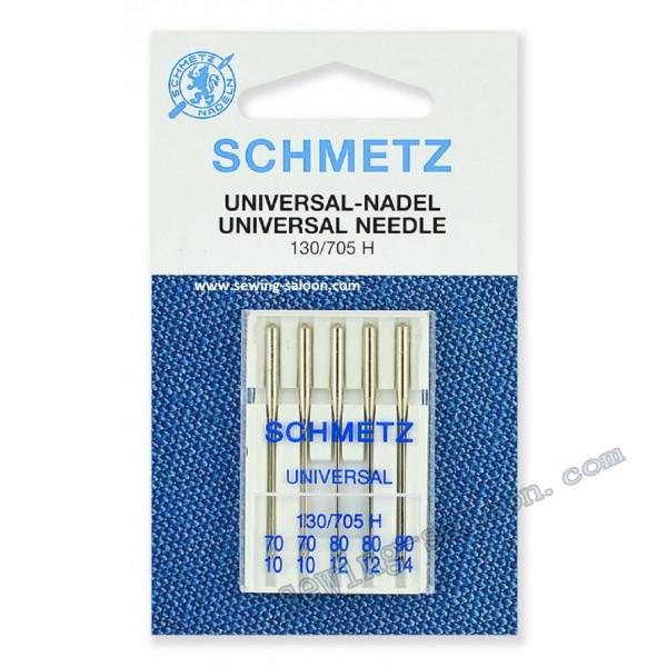 Иглы универсальные Schmetz набор №70-90
