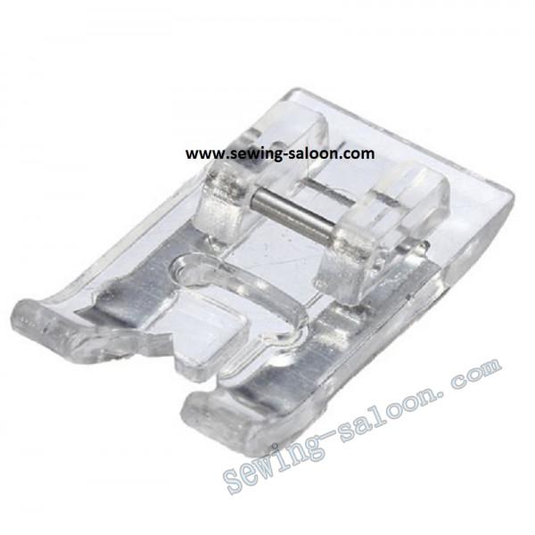 Лапка для атласных и декоративных строчек  (прозрачная) (PO-7006)