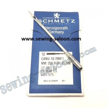 Иглы Schmetz UY9848GS №250 для мешкозашивочных машин.
