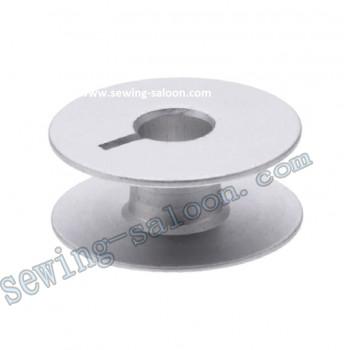 Шпулька алюминиевая с прорезью литая