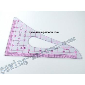 Треугольник конструктора масштабный 8514