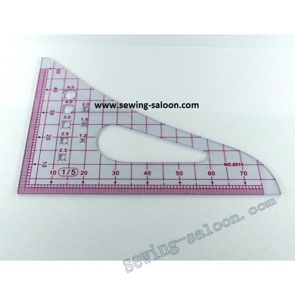 Треугольник конструктора масштабный 8515