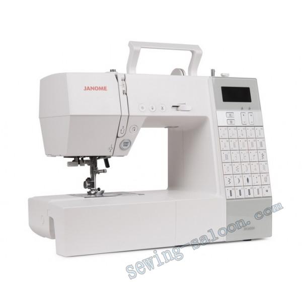 Бытовая швейная машина janome dc 6030