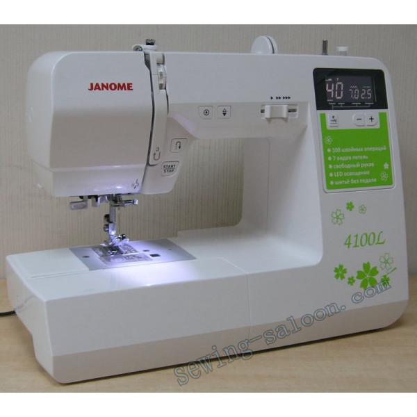 Бытовая швейная машина janome 4100l