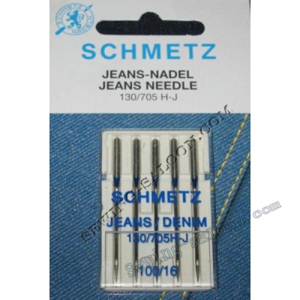 Иглы Schmetz джинс №100