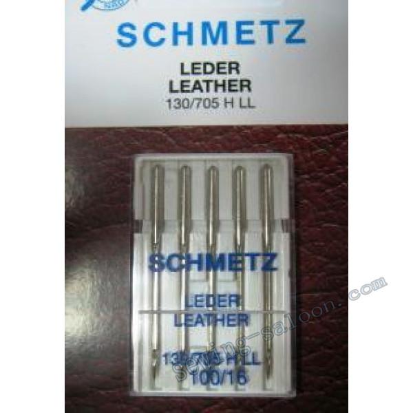 Иглы Schmetz кожа №100