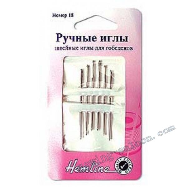 Иглы ручные для вышивания гобелена № 26 (203,26)