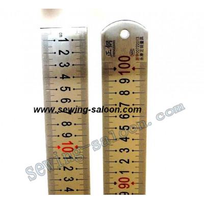 Линейка металлическая 1 м  (широкая)