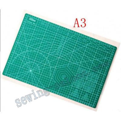 Мат для раскроя ткани А3 двухсторонний