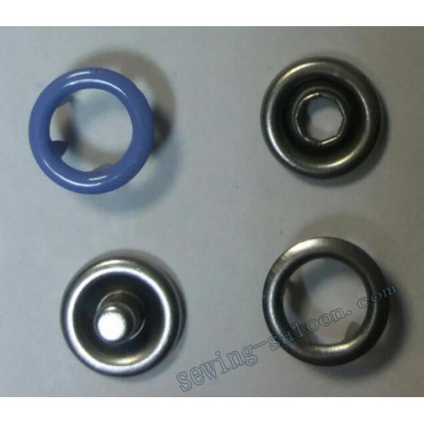 Кнопка трикотажная 9,5 мм сиреневая
