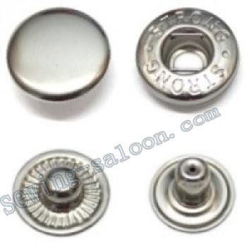 Кнопка рубашечная VT-2 никель