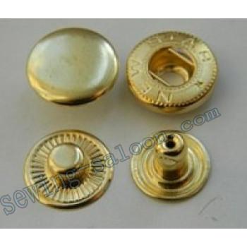 Кнопка  Alfa  D-12.5 золото