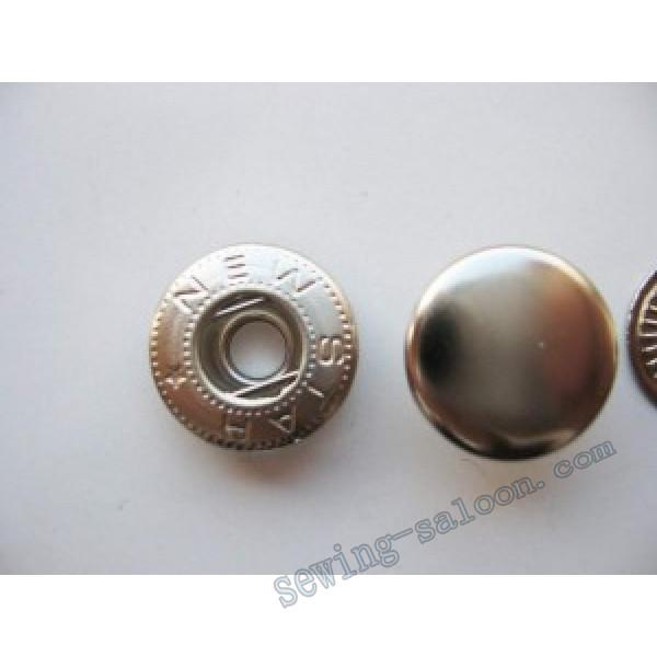 Кнопка  Alfa D-15 никель