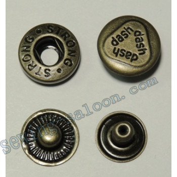 Кнопка  Alfa D-15 антик
