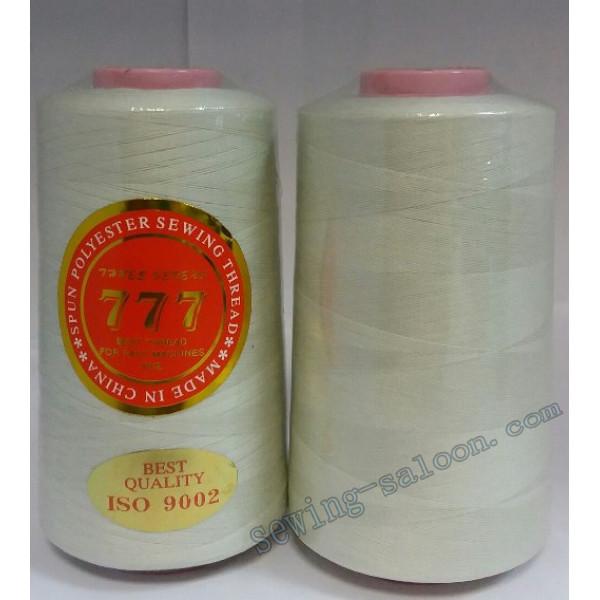 Нитки 777 40/2 цвет светлый бежевый (286)