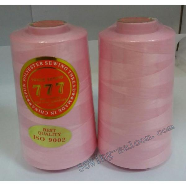 Нитки 777 40/2 цвет розовый (145)