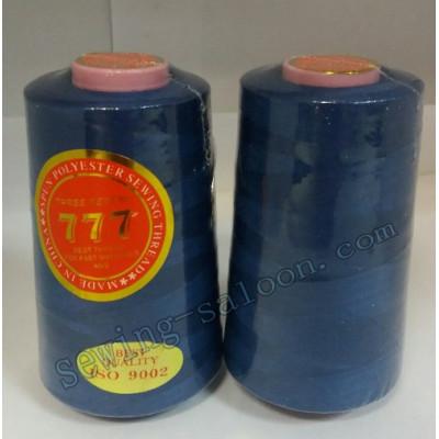 Нитки 777 40/2 цвет темно-синий (067)