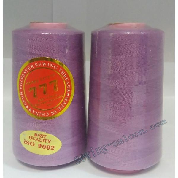 Нитки 777 40/2 цвет сиреневый (022)