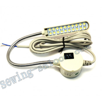Светодиодный светильник с гибкой стойкой 20 диодов  FSM-820