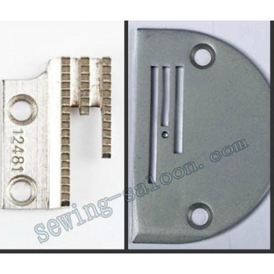 Игольная пластина B-18 (4811) + зубчатая рейка  (4814)