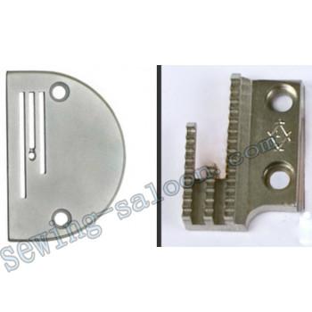 Игольная пластина В-16 (8512)+ зубчатая рейка арт 12481-1 (8513)