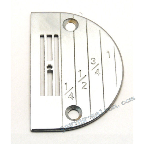 Игольная пластина рубашечная к прямострочным машинам (4818)
