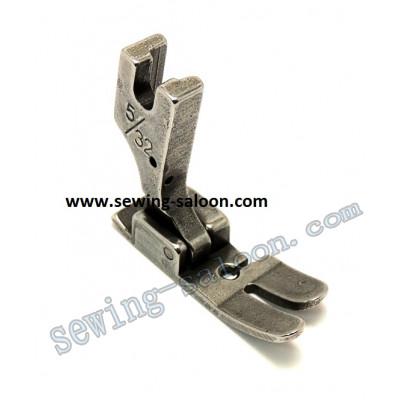 Лапка для машин с обрезкой края 5/32  (4,0 мм) (1651)