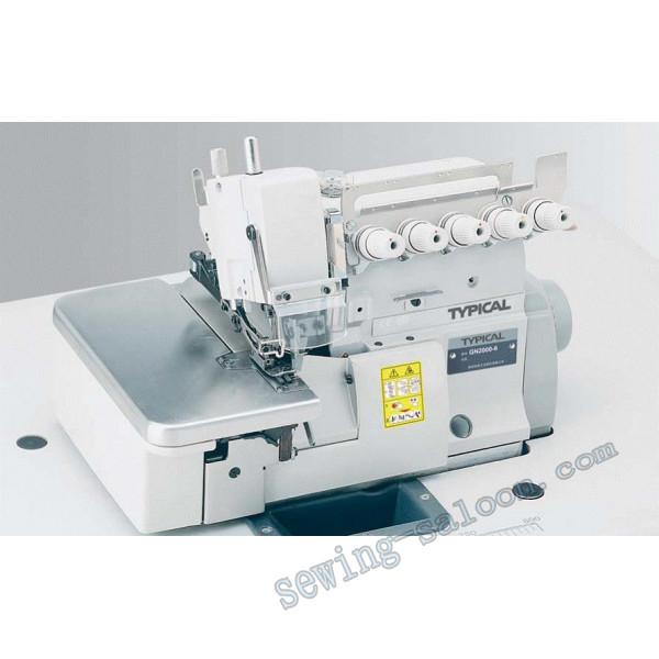 Промышленный оверлок typical gn3000-6