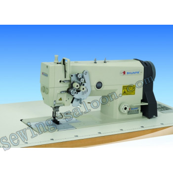 Двухигольная швейная машина shunfa sf 845-М