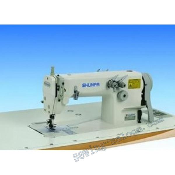 Двухигольная швейная машина shunfa sf 8451