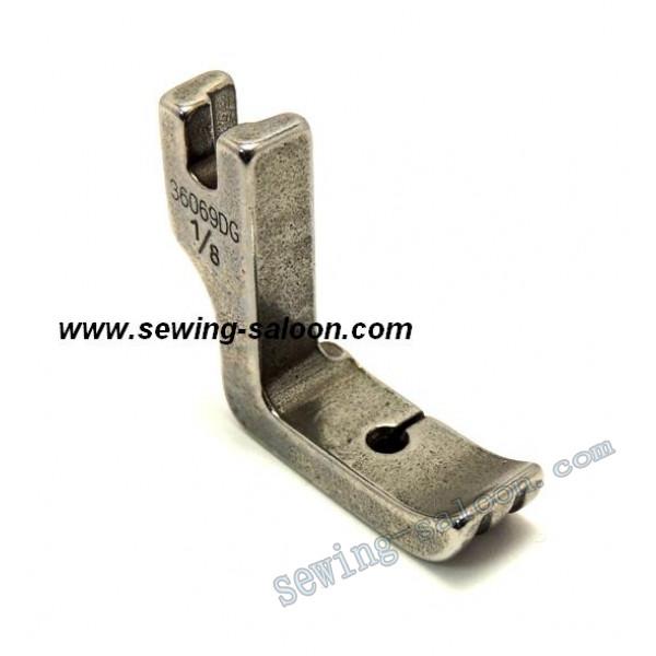 Лапка для вшивания канта (двухсторонняя)  P69DG  1/8 (1214)