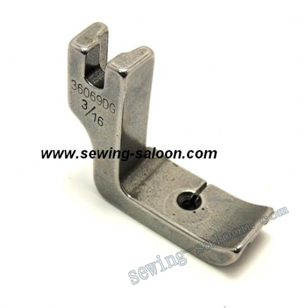 Лапка для вшивания канта (двухсторонняя) P69DG 3/16 (1216)