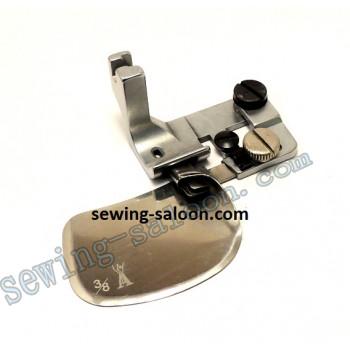 Лапка для двойного подгиба F502 - 10mm (3/8 )