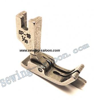 Лапка для отстрочки SP-18 1/16 - 1,6 мм (1076)