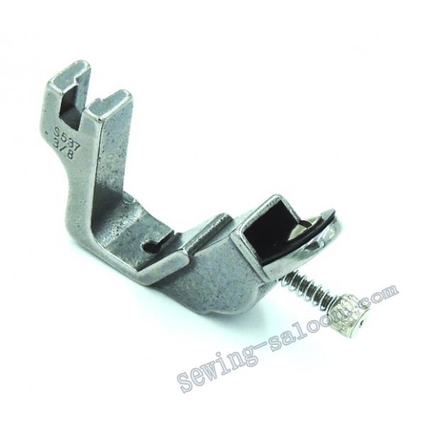 Лапка для настрачивания тесьмы и резинки S537 3/8 (5515)