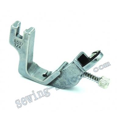 Лапка для настрачивания тесьмы и резинки S537 1/4 (5510)