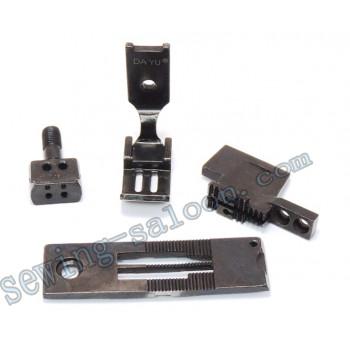 Сменный комплект для 2-х игольных машин LH515/842 5 мм