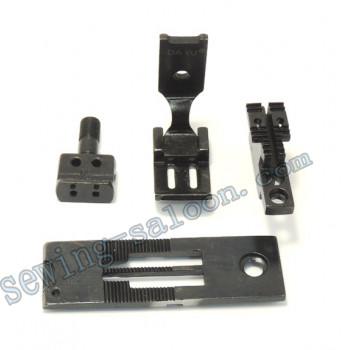 Сменный комплект для 2-х игольных машин LH515/842 6,4 мм