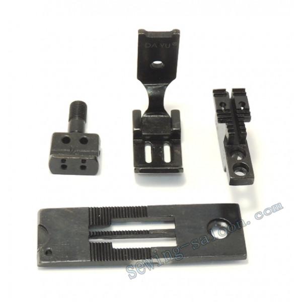 Сменный комплект для 2-х игольных машин LH515/842 2,4 мм
