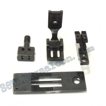 Сменный комплект для 2-х игольных машин LH515/842 12,7 мм